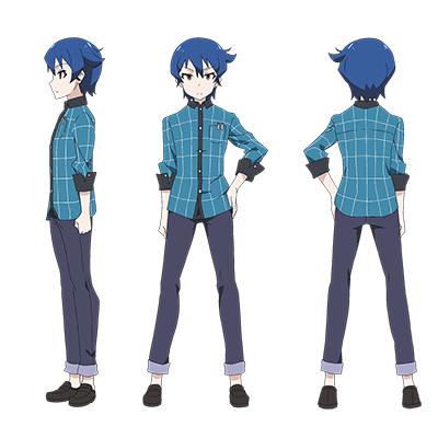 Akiba's Trip Tamotsu Denkigai Cosplay Kostumer Fastelavn