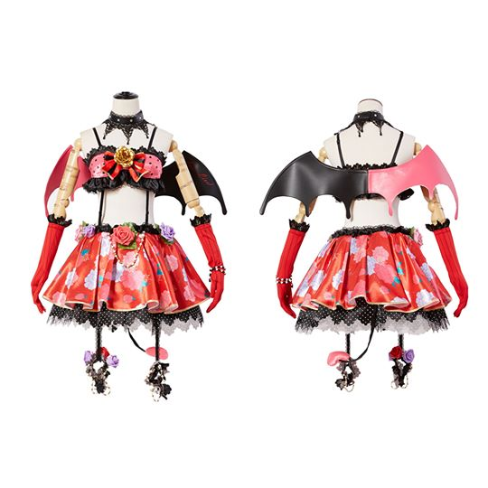 Love Live! New SR Eli/Eri Ayase Little Devil Cosplay Costume