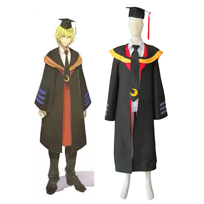 Assassination Classroom Korosensei Vuxen Cosplay Kostym Karneval