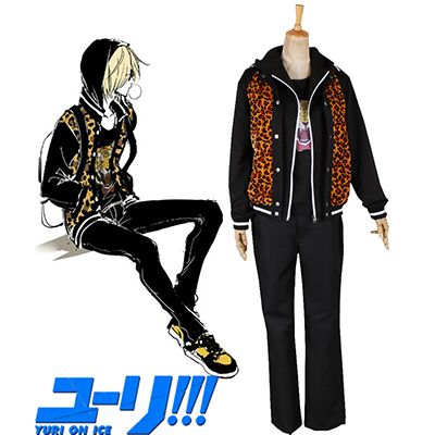 Yuri On Ice Yuri Plisetsky Cosplay Leopard Costume