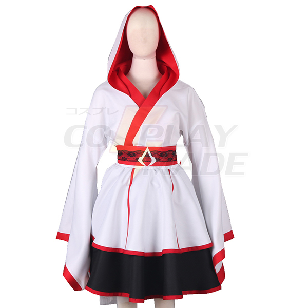 Assassin\'s Creed III Connor Style Lolita Dress Cosplay Jelmez Karnevál