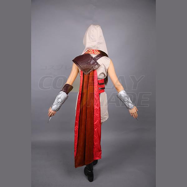 Assassin\'s Creed Ezio Auditore Tytöt Cosplay asut Full asut Naamiaisasut