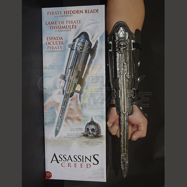 Assassin\'s Creed IV: Black Flag Edward Kenway Cosplay Hidden Blade Karnevál