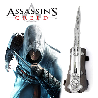 Assassin's Creed II Ezio Cosplay Hidden Blade Karnevál