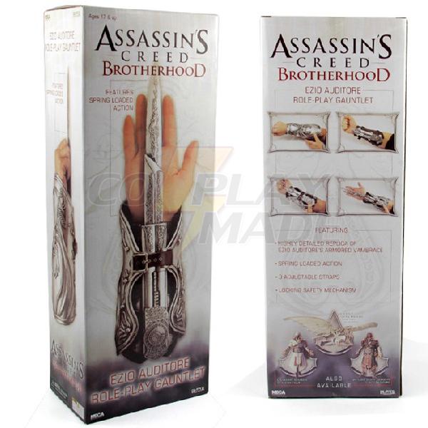 Assassin\'s Creed II Ezio Cosplay Hidden Blade Edition Naamiaisasut