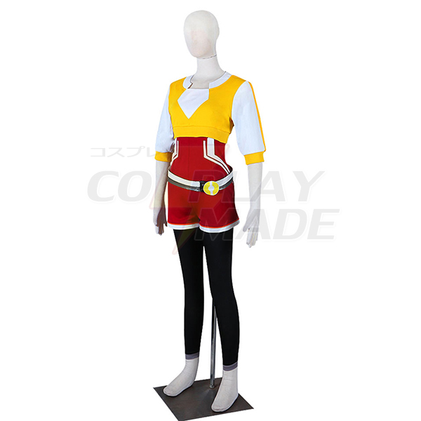 Pocket Monster Pokemon Go Female Trainer Cosplay Kostume Fastelavn