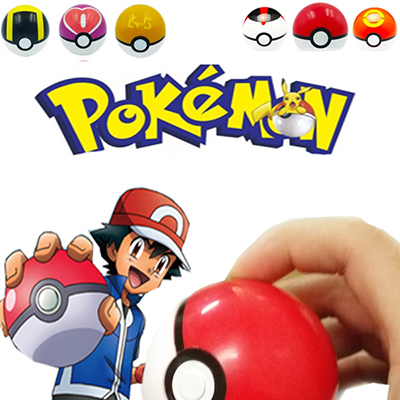 Pokemon Go Poke Monster Pikachu Pokeball Cosplay Toy Fastelavn