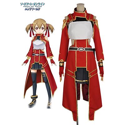 Sword Art Online Silica/Keiko Ayano Cosplay Costume