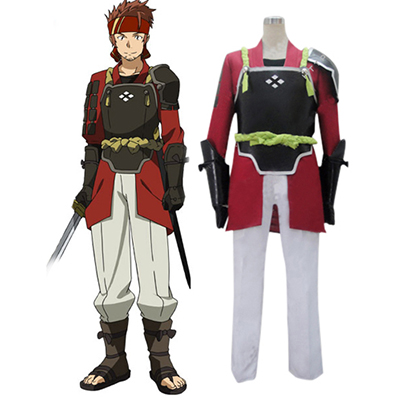 Sword Art Online Salamander Klein Cosplay Kostuum Carnaval Halloween