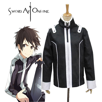 Sword Art Online Knights of the Blood Kirito/Kazuto Kirigaya Cosplay Traje Carnaval