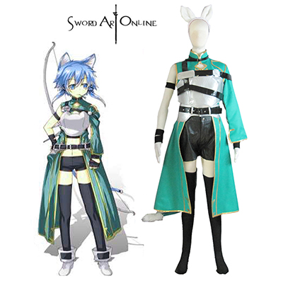 Sword Art Online II Asada Shino Cosplay Costume Carnaval