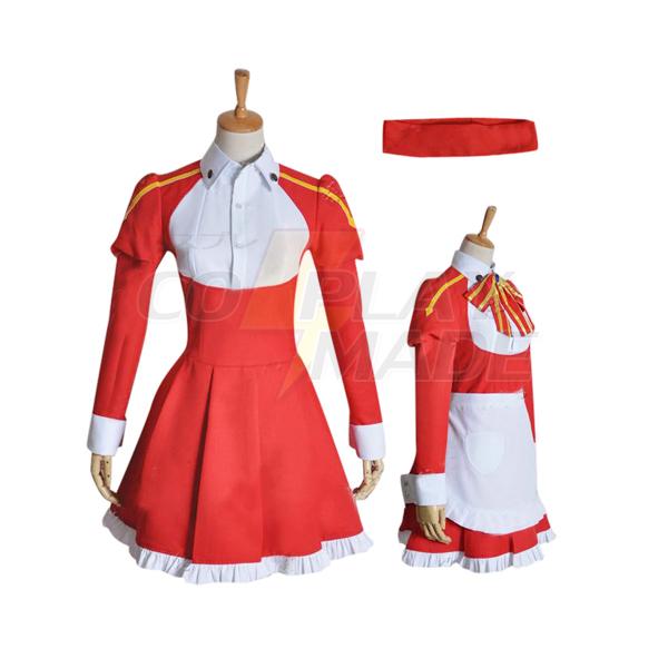 Sværd Art Online Rika Shinozaki Cosplay Kostume Fastelavn