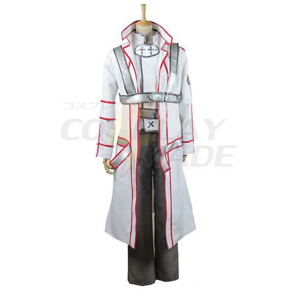 Sword Art Online Knights of the Blood Kazuto Kirigaya/Kirito Cosplay Jelmez Karnevál