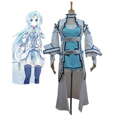 Sword Art Online ALO Alfheim Online Yuki Asuna Cosplay Kostym Karneval