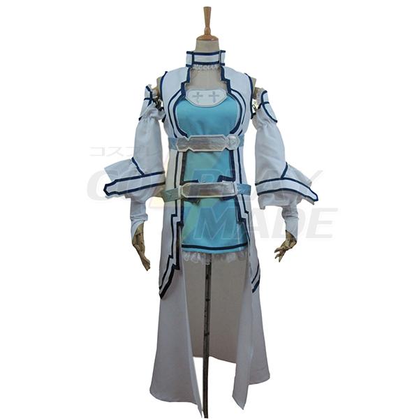 Sword Art Online ALO Alfheim Online Yuki Asuna Cosplay Jelmez Karnevál