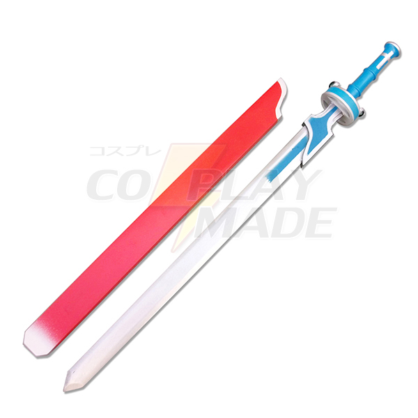 Sværd Art Online Yuki Asuna White Sværd New Style Cosplay Redskaber Fastelavn