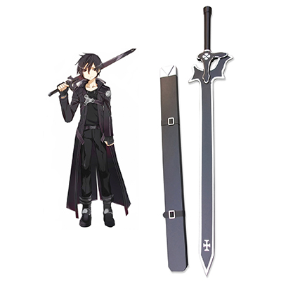 Sword Art Online Elucidator Wood Sword Cosplay Props