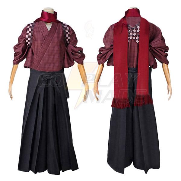 Touken Ranbu Online Kashuu Kiyomitsu Cosplay asut Naamiaisasut