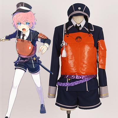 Touken Ranbu Akitatoushirou Cosplay Kostume Fastelavn