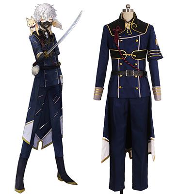 Touken Ranbu Nakigitsune Cosplay Kostume Fastelavn