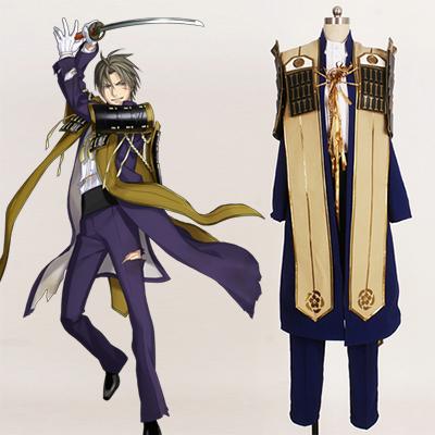 Touken Ranbu Heshikiri Hasebe Cosplay Kostyme Karneval