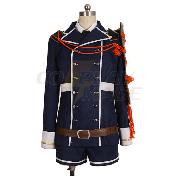 Touken Ranbu Yagen Toushirou Cosplay Kostume Fastelavn