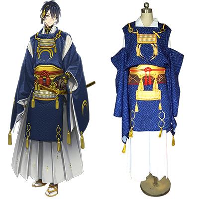 Touken Ranbu Mikazuki Munechika Cosplay Kostyme Karneval