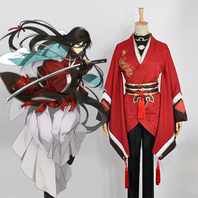 Touken Ranbu Izuminokami Kanesada Cosplay Kostyme Karneval