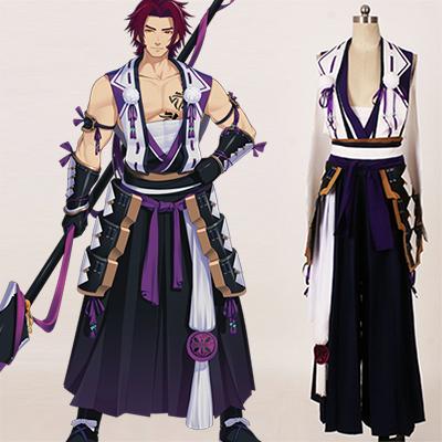 Touken Ranbu Tonbokiri Cosplay Kostume Fastelavn