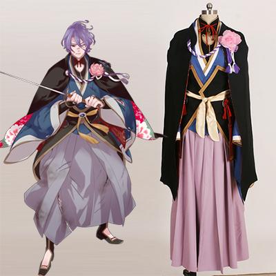 Touken Ranbu Kasen Kanesada Cosplay Kostyme Karneval