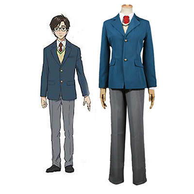 Parasyte Izumi Shinichi School Uniform Cosplay Costume