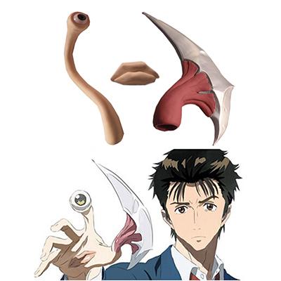 Parasyte Shinichi Izumi Migi Toy Cosplay Kellékek Karnevál