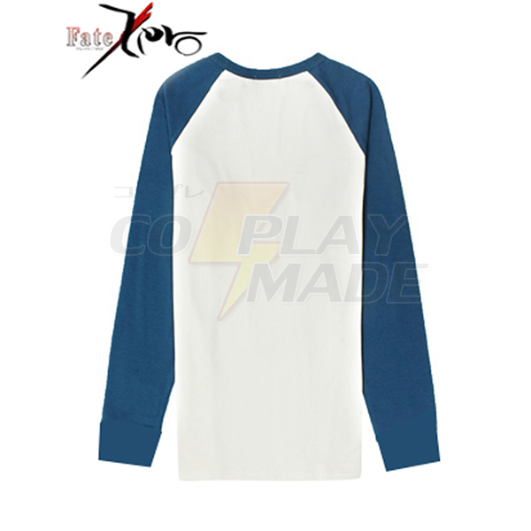 Fate/Stay Night Shirou Emiya T-shirt Cosplay Kostume Fastelavn