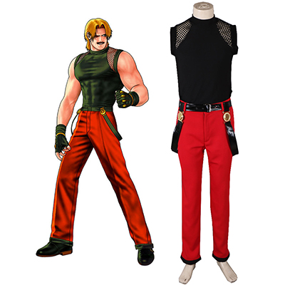 King of Fighters 98 Rugal Combat Cosplay Costume Carnaval