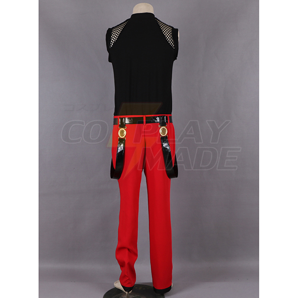 The King of Fighters 98 Rugal Fighting Cosplay Jelmez Karnevál
