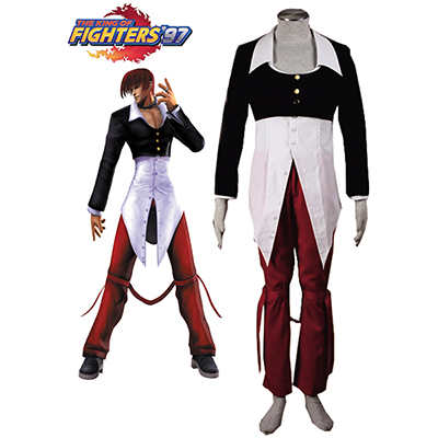 The King of Fighters Iori Yagami Cosplay Kostym Karneval