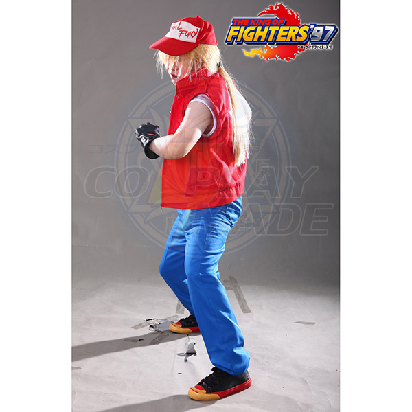 The King of Fighters Terry Bogard Cosplay Jelmez Karnevál