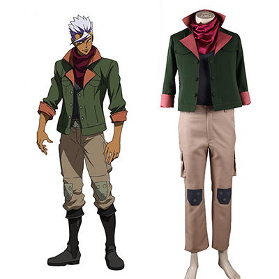 Mobile Suit Gundam: Iron-Blooded Orphans Orga Itsuka Cosplay Costumi Carnevale