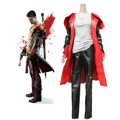 Devil May Cry 5 Dante Yougth Cosplay Kostym Karneval