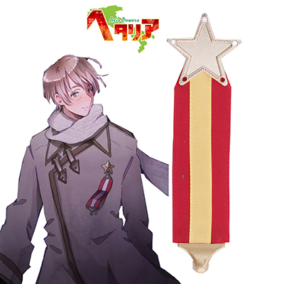 Anime Axis Powers Hetalia APH Russia Uniforme Badge Carnevale