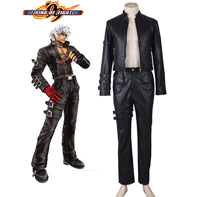 The King Of Fighters KOF99 K' Halloween Cosplay Kostym Karneval