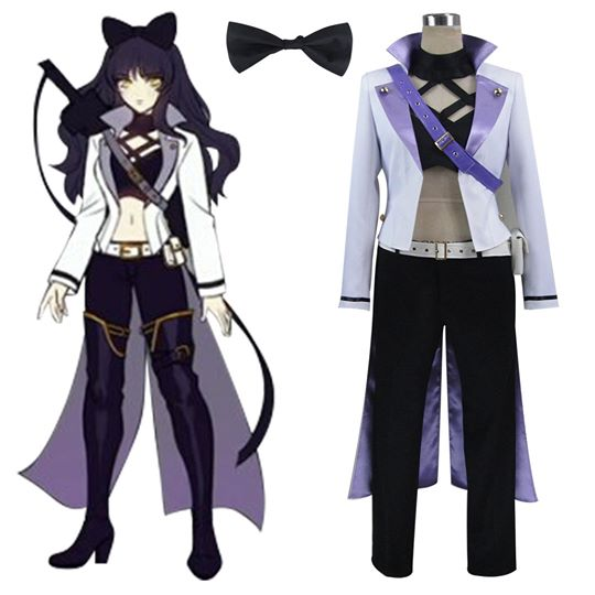 RWBY Volume 4 Blake Belladonna Cosplay Costume Anime Outfit