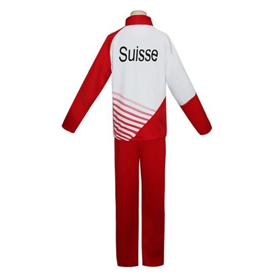 Yuri on Ice YURI!!!on ICE Giacometti Christophe Sportswear Suit Outfit Cosplay Costume