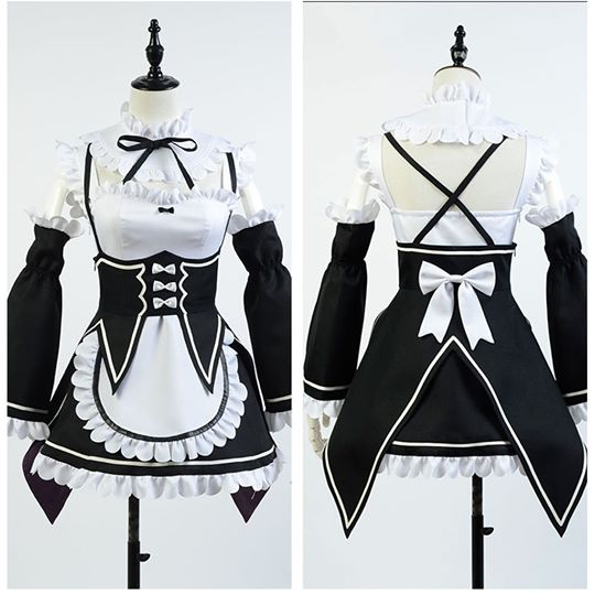 Re:Zero - Starting Life in Another World Zero Rem Cosplay Jelmez Karnevál