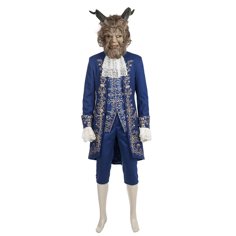 Beauty and the Beast Cosplay Beast Kostüme Komplett-Set