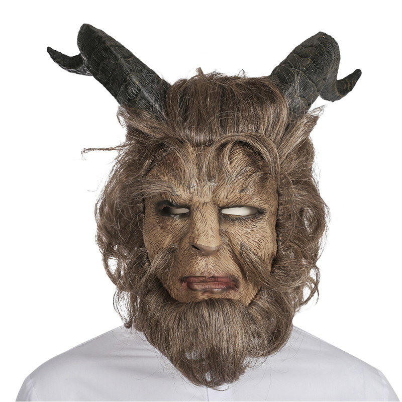 Beauty and the Beast Cosplay Beast Only Mask