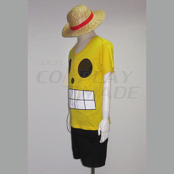 One Piece Film Z Monkey·D·Luffy Summer Cosplay Jelmez Karnevál