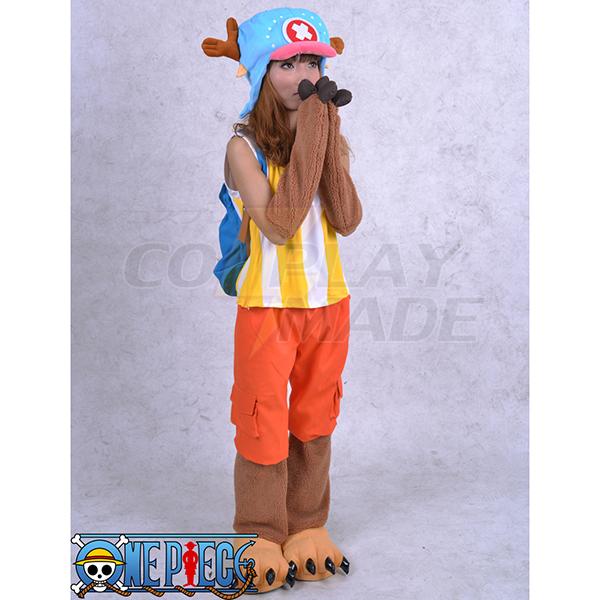 One Piece Tony Tony Chopper 2 år senere Cosplay Kostume Fastelavn