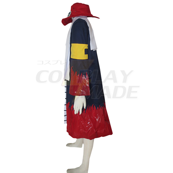 One Piece Portgas·D· Ace Cosplay Costume Full Set
