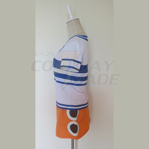 One Piece Nami 2 Years Ago Cosplay Costume